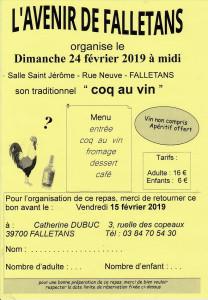 Coq au vin 2019