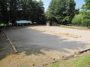 Le parking de l'Assoc version Concours de Pétanque