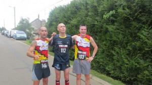 Le trio gagnant du 10 Km